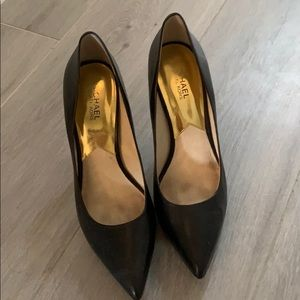 Michael Kors Black Pointy Heels